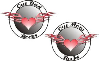 OUR DAD ROCKS & OUR MOM ROCKS
