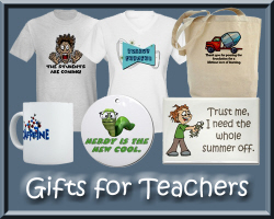 Gifts for Teachers and Funny Teacher T-shirts