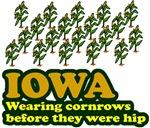 Iowa cornrows before hip