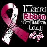 Ribbon Hero in My Life Throat Cancer Shirts