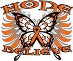 Kidney Cancer Hope Believe Shirts