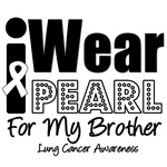 I Wear Pearl Ribbon For My Brother Shirts
