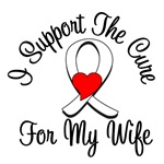 Lung Cancer Cure (Wife) T-Shirts