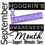 Hodgkin's Lymphoma Disease Awareness Month Shirts