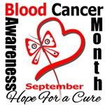 Blood Cancer Awareness Month Heart T-Shirts