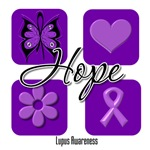 Inspirational Hope Lupus Shirts and Gifts