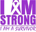 I am Strong Lupus Survivor Shirts