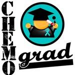 Chemo Grad Ovarian Cancer Shirts