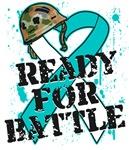 Ready For Battle Cervical Cancer Shirts