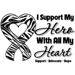 I Support My Hero With All My Heart Carcinoid Canc