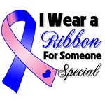 Ribbon Someone Special Male Breast Cancer Shirts