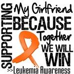 Supporting My Girlfriend Leukemia Shirts and Gifts