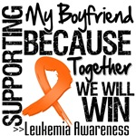 Supporting My Boyfriend Leukemia Shirts and Gifts