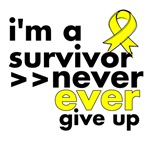 Never Give Up Ewing Sarcoma Shirts and Gifts