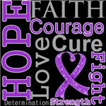Hope Faith Courage GIST Cancer Shirts