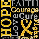 Appendix Cancer Hope Courage Shirts and Gifts