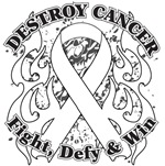 Destroy Mesothelioma Cancer Shirts and Gear