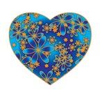 Blue Heart Flowers