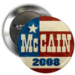 McCain 2008 Retro Buttons