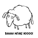 Baaaa Means Nooo! Shirts