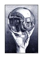 Escher Self-Portrait