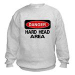 Danger Hard Head Area