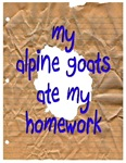 My Goats Ate My Homework