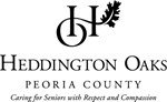 Heddington Oaks Black & White Logo