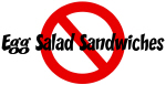 Anti Egg Salad Sandwiches