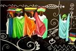 Market Haiti Art