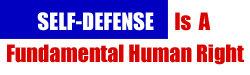 Self-Defense Is A Fundamental Human Right