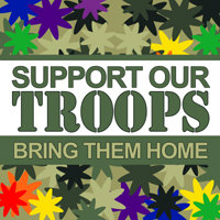 SUPPORT OUR TROOPS - BRING THEM HOME