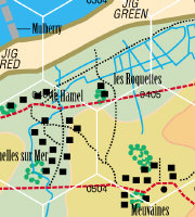 D-Day beach maps Game Design