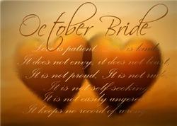 October Brides