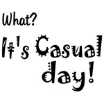 Funny Festive Casual Day