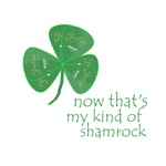 My Kind of Shamrock (Green Guitar Pick Leaves)
