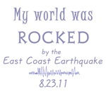 My World was Rocked by the East Coast Earthquake