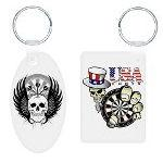 Darts Key Rings