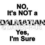 Not a Dalmatian