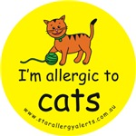 I'm allergic to cats