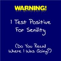 Test For Senility