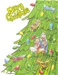 Christmas Airplane Tree