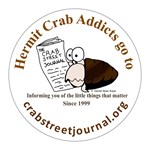 Hermit Crab Addicts go to crabstreetjournal.org