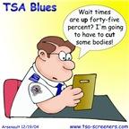 TSA Blues: