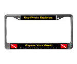 Custom License Plate Frames