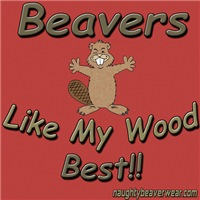 Beavers Like My Wood Best!!