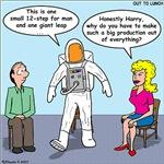 Astronaut 12-Step Show-off