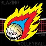 Blazing Volleyball