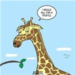 Giraffe Foraging Foibles