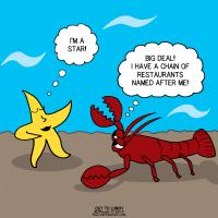 Star at Red Lobster